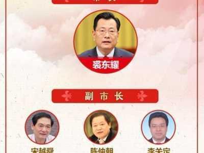 宁波市市长 权威发布|宁波市公布市长、副市长工作分工