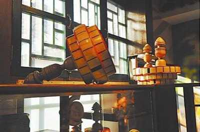 空竹博物馆 展示抖空竹技艺