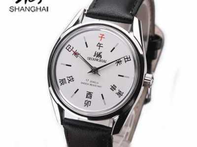 老手表牌子 那些潮起来的上海老牌子